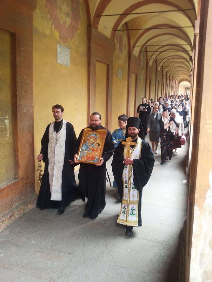 L'icona della Madre di Dio di San Luca a San Basilio