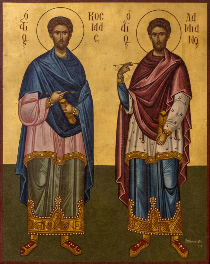 Icone  : SantiCosmaDamiano from bologna.cerkov.ru size 816 x 1024 jpeg 308kB